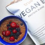 Cacao amp Berry Protein oats I  the new Veganhellip