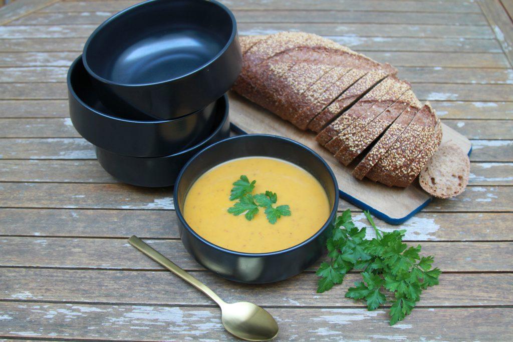 Sweet Potato & Pumpkin Spiced Soup