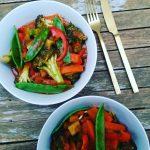Red curry yes please Recipe  wwwpoweredbyvegiescomau poweredbyvegies vegan vegansofighellip