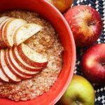 Apple amp Cinnamon Oats 12 cup steel cut oats 1hellip
