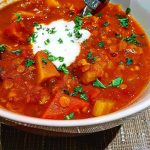 Morrocan Spicy Lentil Soup Just put this one together byhellip